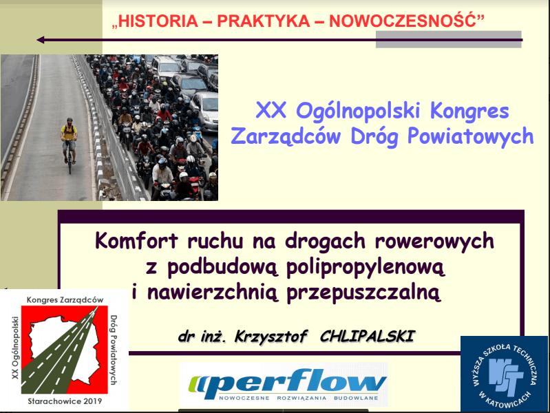 PERMAVOID - XX Ogólnopolski Kongres Zarządców Dróg Powiatowych - Krzysztof Chlipalski